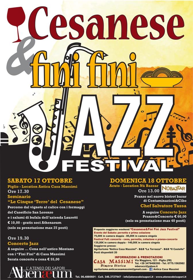 Cesanese e fini fini Jazz Festival